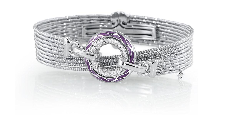 Armband Purpur