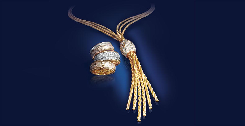 Collier Ronde Ringe